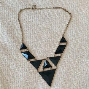 Black Statemenr Necklace